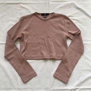 Cropped Long Sleeved Shirt